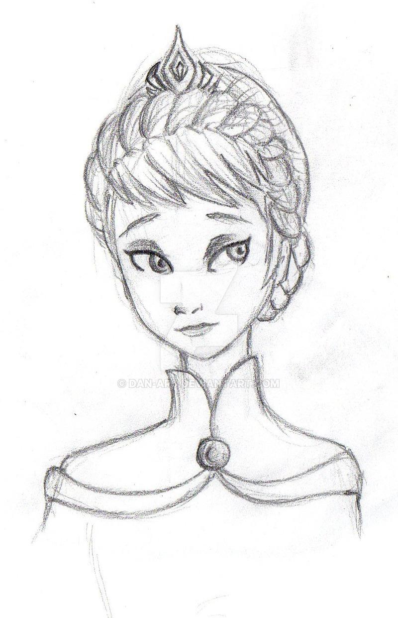 800x1241 Queen Elsa (Coronation) By Dan Ars
