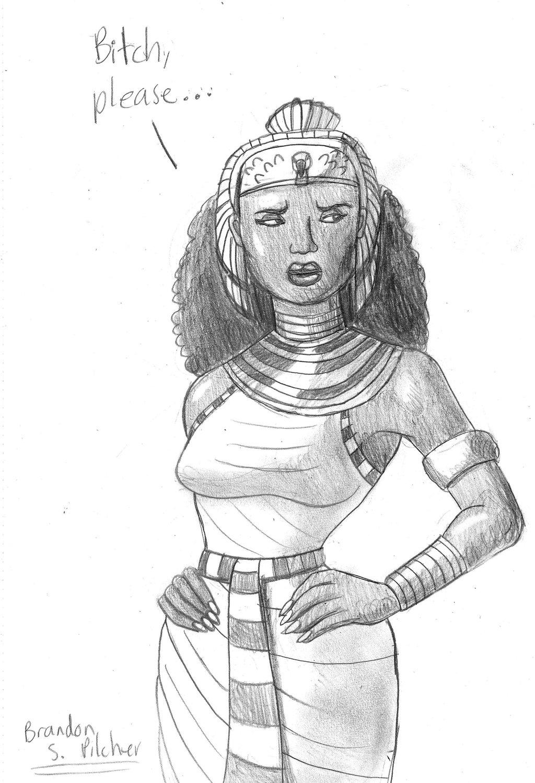 Queen Hatshepsut Drawing At Getdrawings