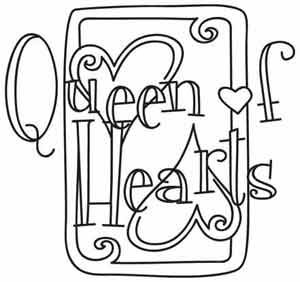 Queen Of Hearts Card Drawing At Getdrawings Com Free For Personal