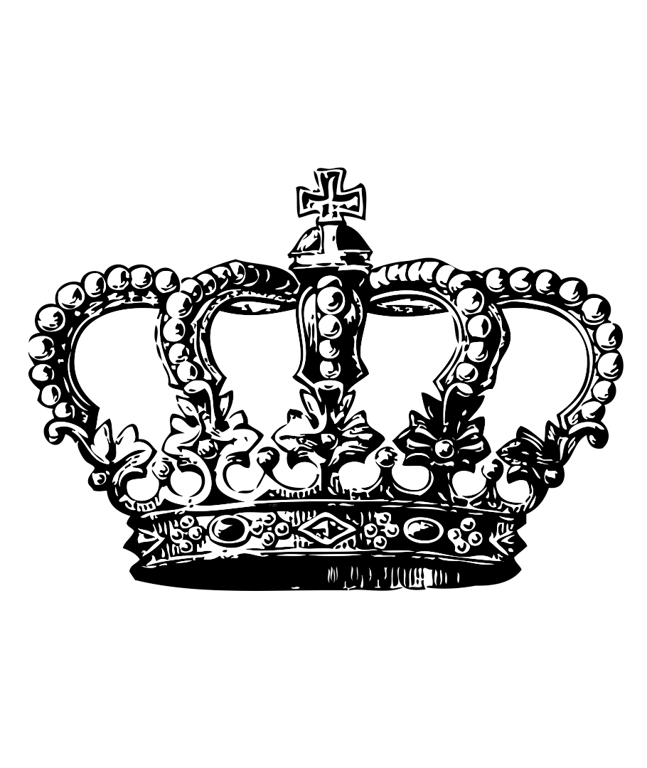 Crown Tattoo Line Drawing : Queens crown drawing at getdrawings free for