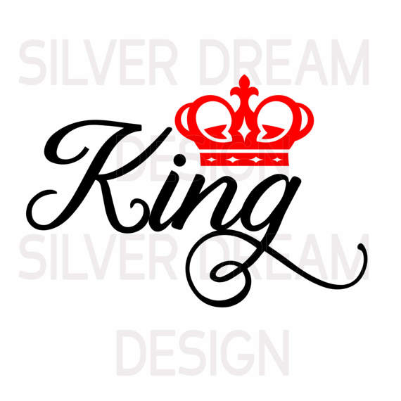 570x570 King And Queen Svg King Queen Shirts Svg Files Couples Queen