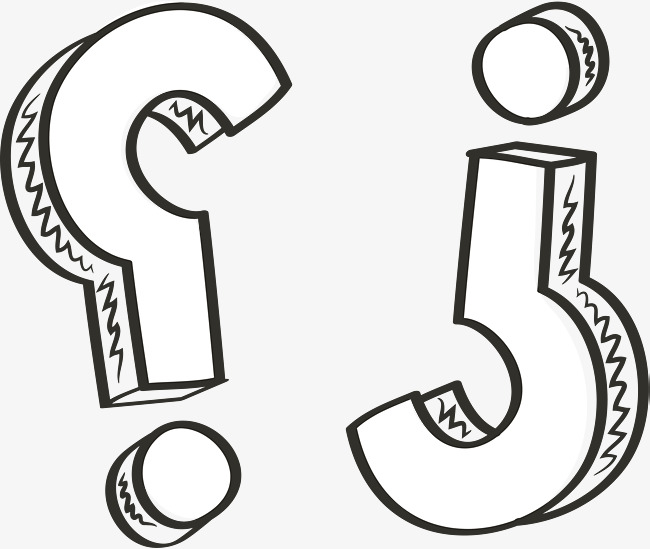 650x549 Hand Painted Negative Question Mark, Vector Png, Question Mark