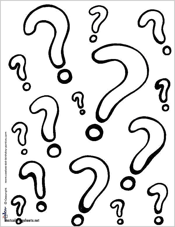 600x777 Lovely Coloring Pages Question Mark Best Coloring Pages