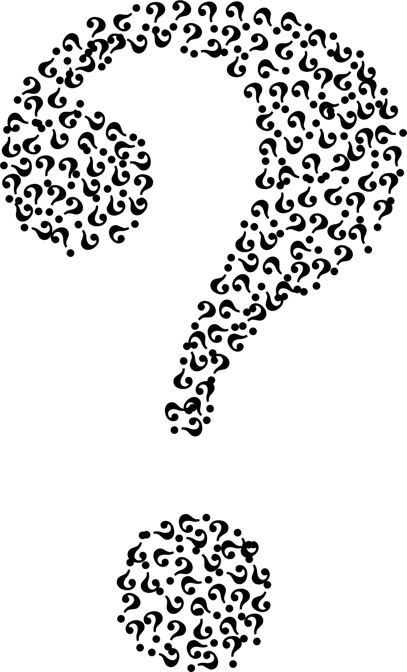 1344x2220 Question Mark Fractal Icons Png