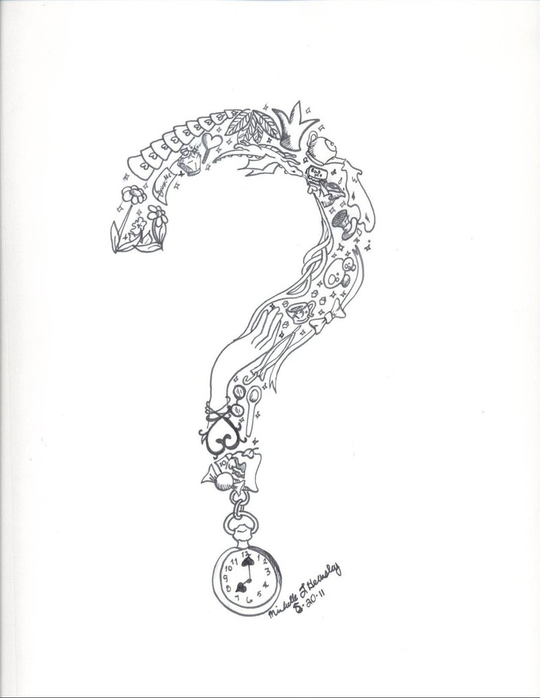 786x1017 Question Mark By Gorgeousredemption