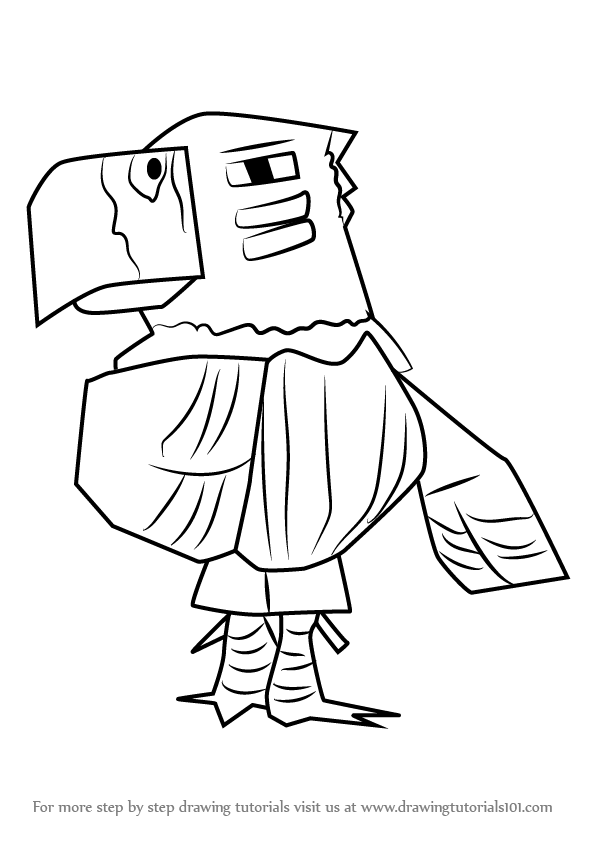 596x843 Learn How To Draw Quetzal From Animal Crossing (Animal Crossing
