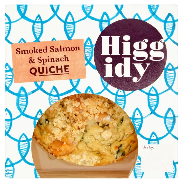 640x640 Higgidy Little Whisky Smoked Salmon Amp Spinach Quiche 155g From Ocado