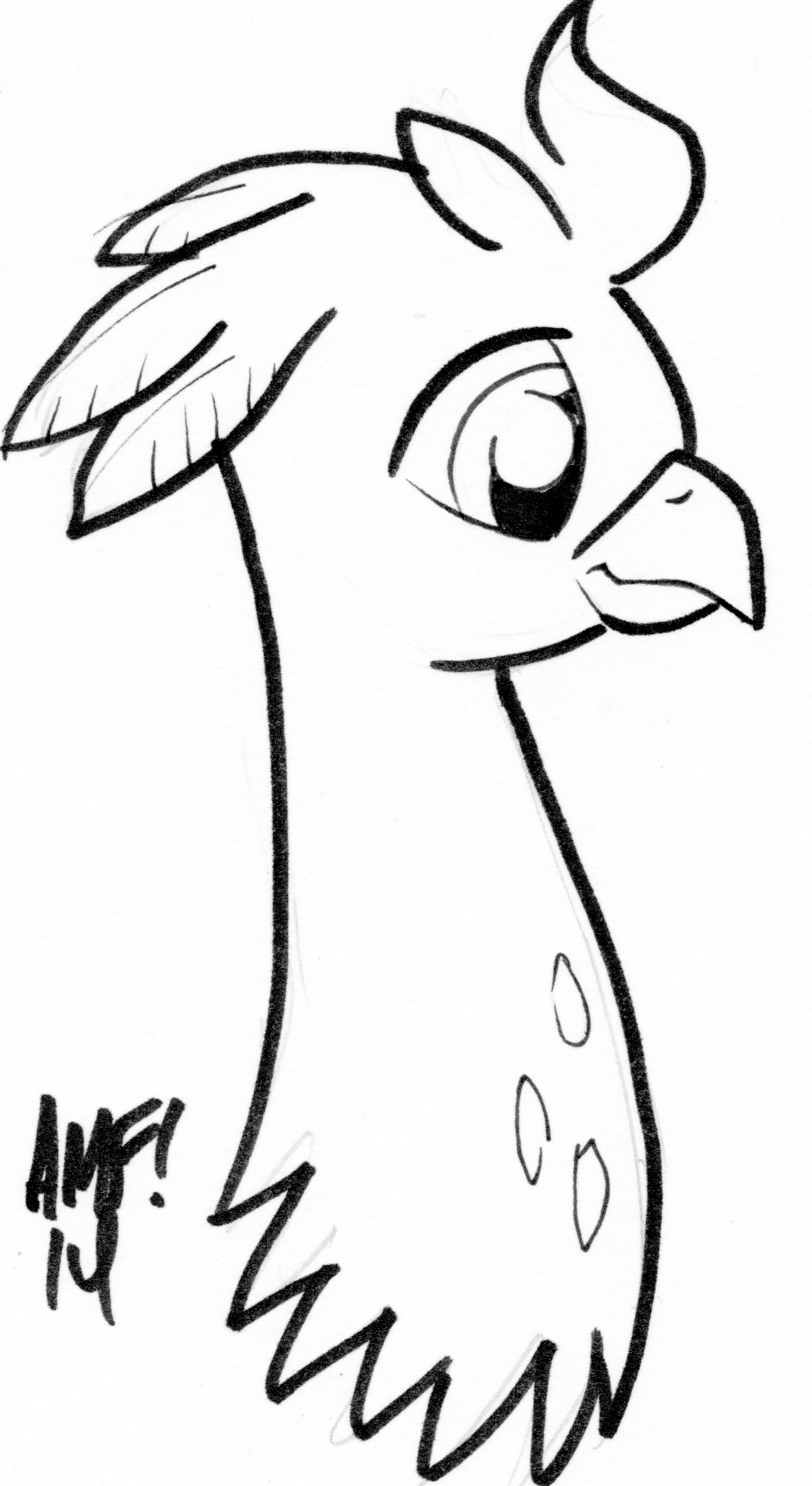 1024x1873 Tony Fleecs Draws Silver Quill By Mlp Silver Quill