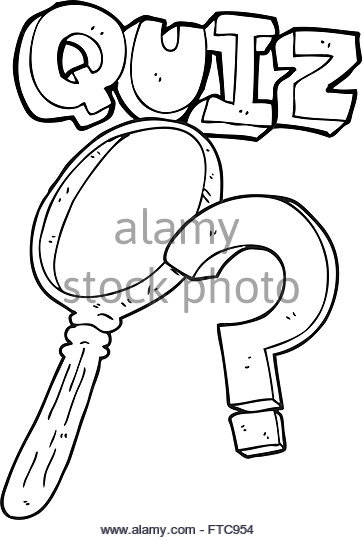 362x540 Freehand Drawn Cartoon Quiz Symbol Stock Photos Amp Freehand Drawn
