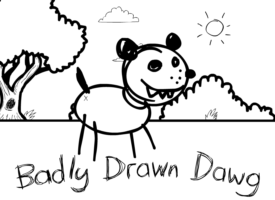 963x700 Badly Drawn Dawg The Impossible Quiz Wiki Fandom Powered By Wikia