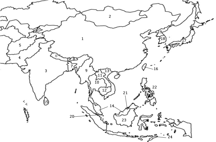 Quiz drawing at getdrawings free for personal use quiz drawing 834x548 countries of asia map quiz gumiabroncs Image collections