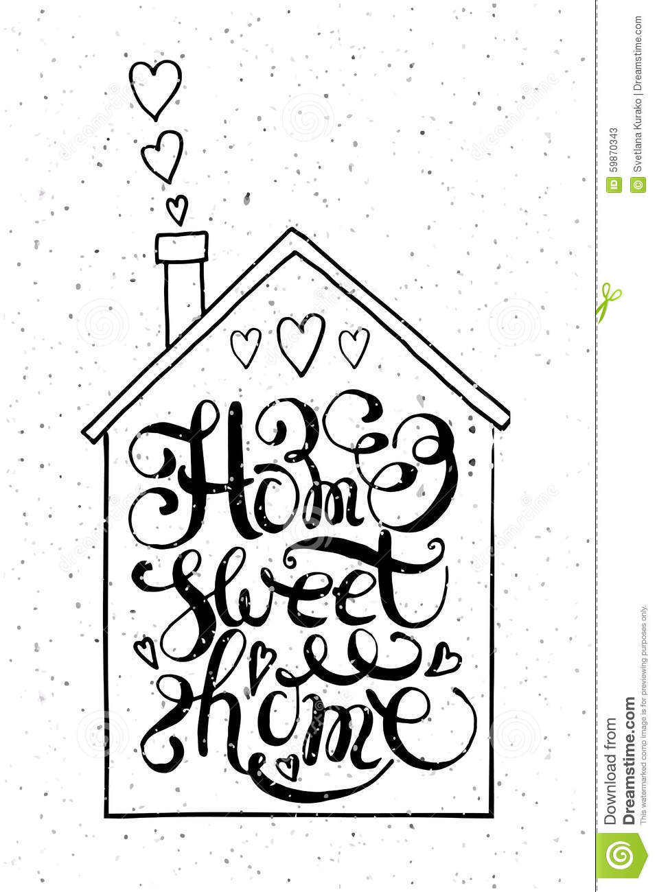 957x1300 Collection Home Sweet Home Drawing Photos,