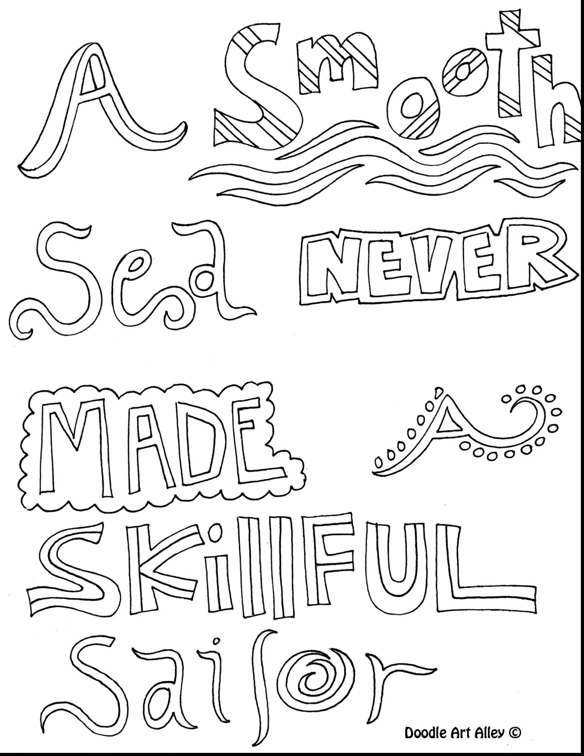 1870x2420 Inspirational Quotes Coloring Pages Free Draw To Color