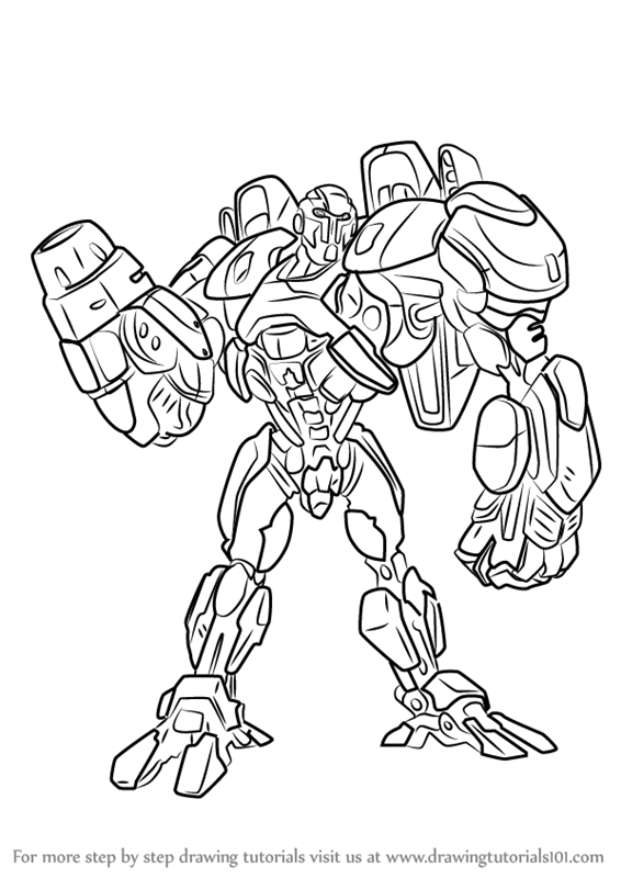 566x800 Learn How To Draw Cy.t.r.o. From Max Steel (Max Steel) Step By