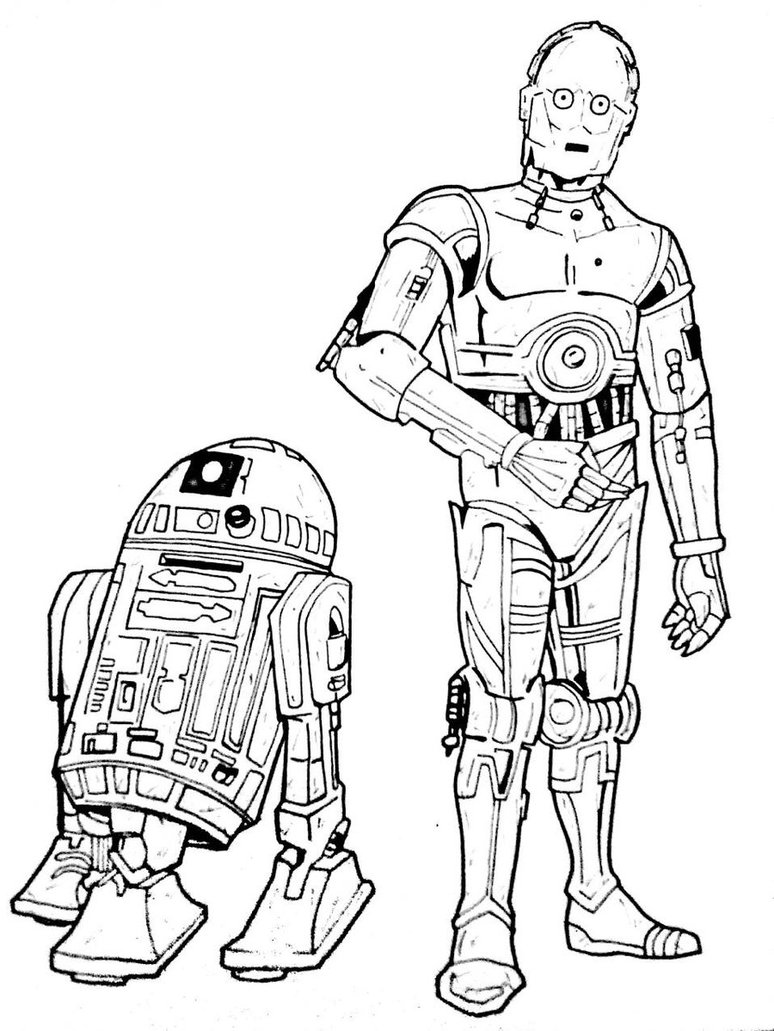 R2d2 Drawing at GetDrawings.com | Free for personal use R2d2 Drawing ...