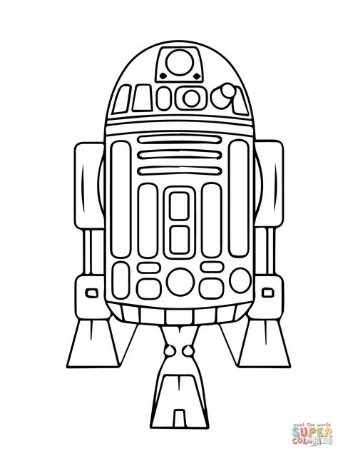 474x632 How To Draw R2 D2, Step By Step, Star Wars Characters, Draw Star