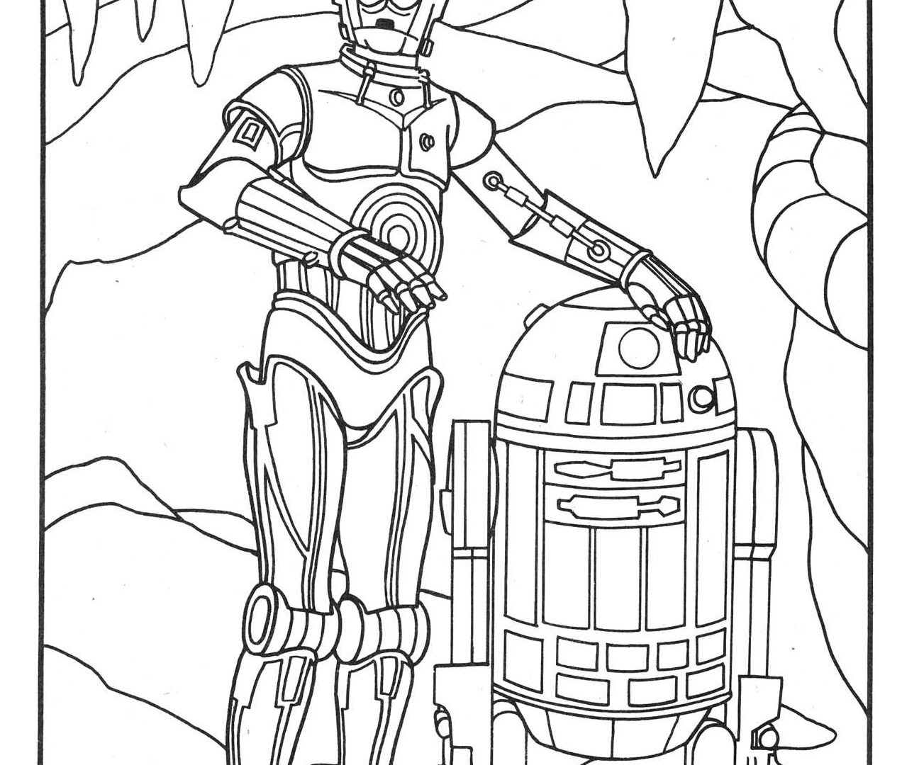 R2d2 Line Drawing at GetDrawings.com | Free for personal use R2d2 ...