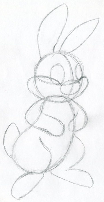 362x701 Learn How To Draw Cartoon Rabbit. Simple, Quick And Easy