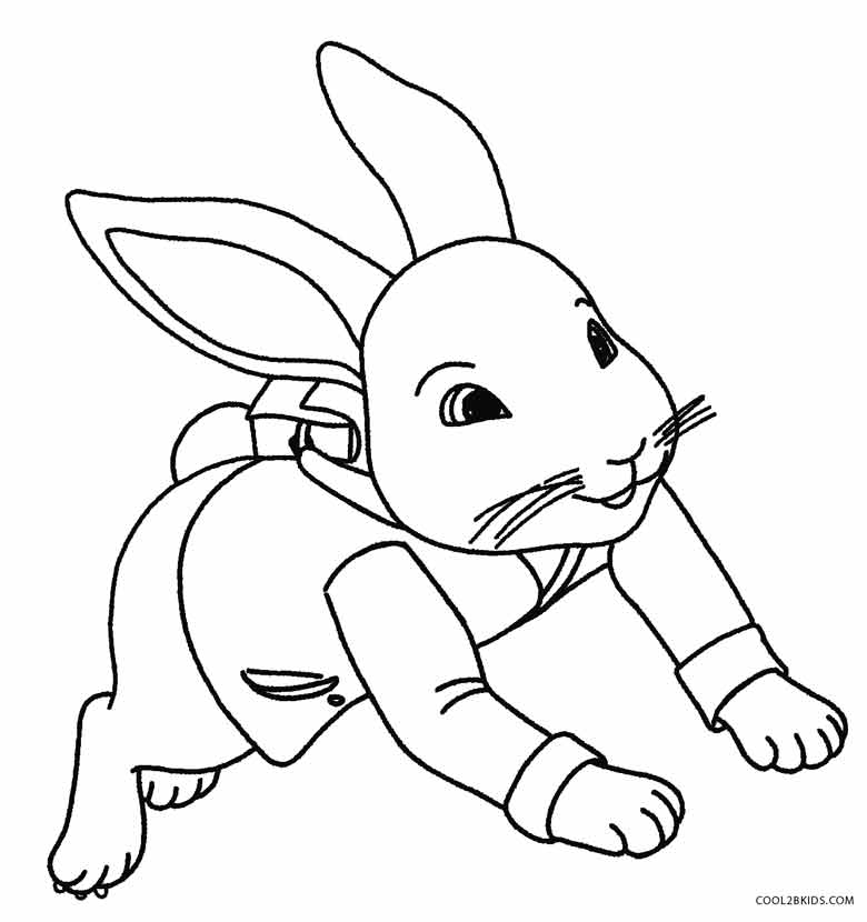 780x830 Printable Rabbit Coloring Pages For Kids Cool2bkids
