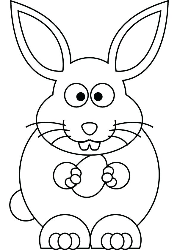 595x842 Easter Bunny Coloring Picture Coloring Pages Bunny Bunny Coloring