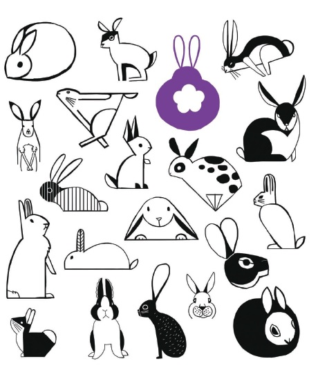 Rabbit Drawing Images