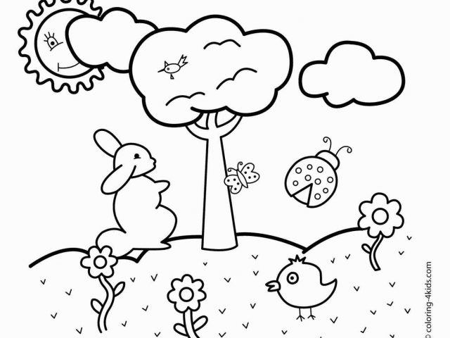 640x480 The Images Collection Of Drawing Spring Drawings Easy For Kids