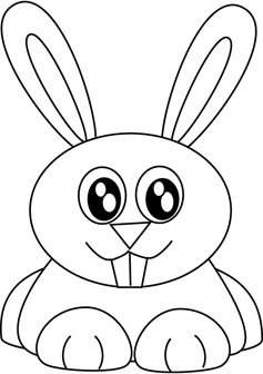 237x336 Bunny Drawing Books Applique Patterns Bunny