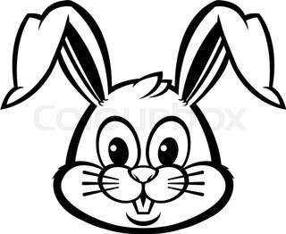320x262 Easter Bunny With Easter Egg Stock Vector Colourbox
