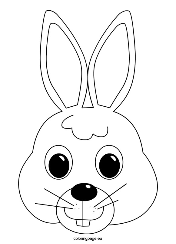 Rabbit Face Drawing at GetDrawings.com | Free for personal ...