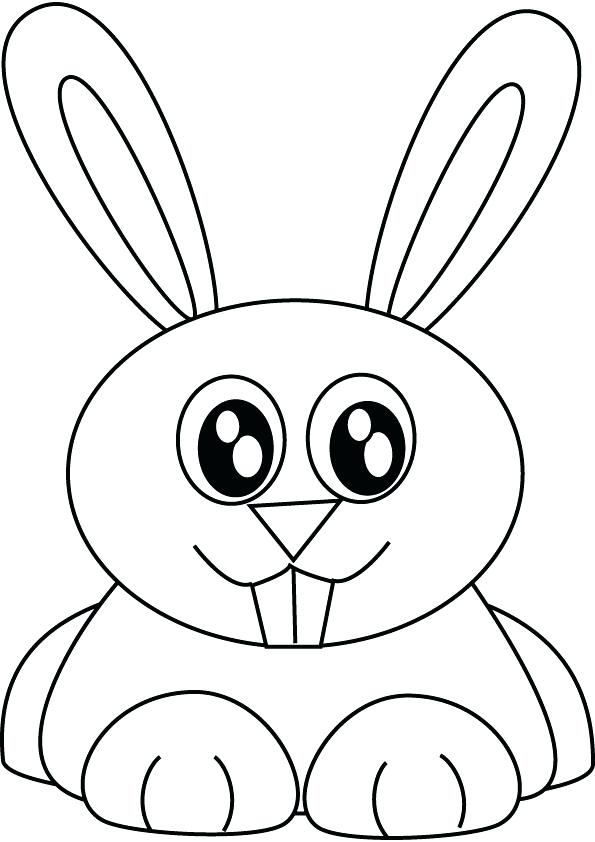 595x842 Bunny Rabbit Coloring Pages Bunny Rabbit Coloring Picture Bunny