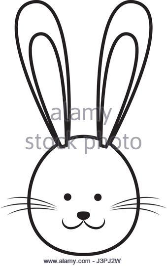 339x540 Cartoon Cute Easter Face Bunny Stock Photos Amp Cartoon Cute Easter