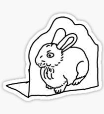 210x230 Rabbit Foot Stickers Redbubble