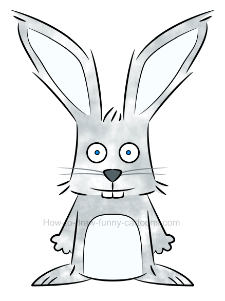 438x586 To Draw An Illustration Of A Rabbit