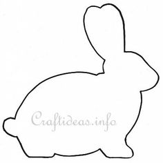 236x236 Bunny Clipart Rabbit Outline