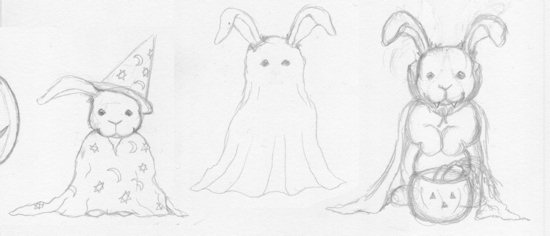 550x236 Halloween Rabbits The Rabbit House