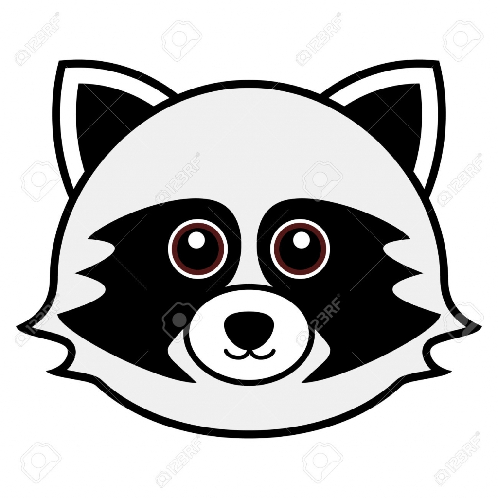 Raccoon Drawing at GetDrawings.com | Free for personal use Raccoon ...