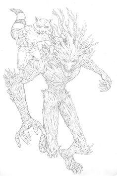 236x354 Rocket Raccoon By Misfitcorner On Lineart Guardians