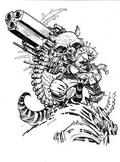 236x317 Samurai Wolverine By Eric Canete. Comics Art