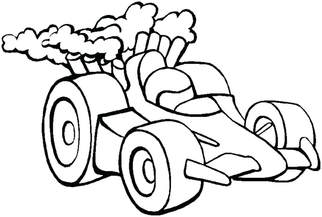 1075x726 Race Car Pictures To Color Genesisar.co