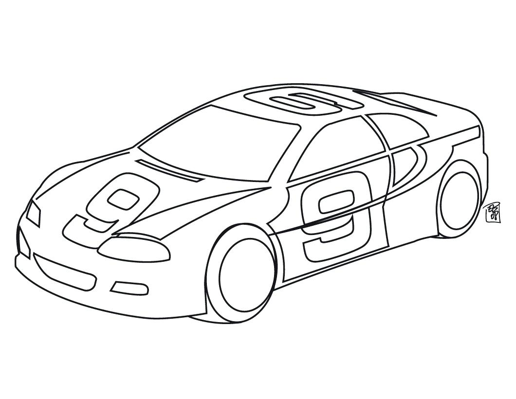 1060x820 Coloring Race Cars Coloring Pages