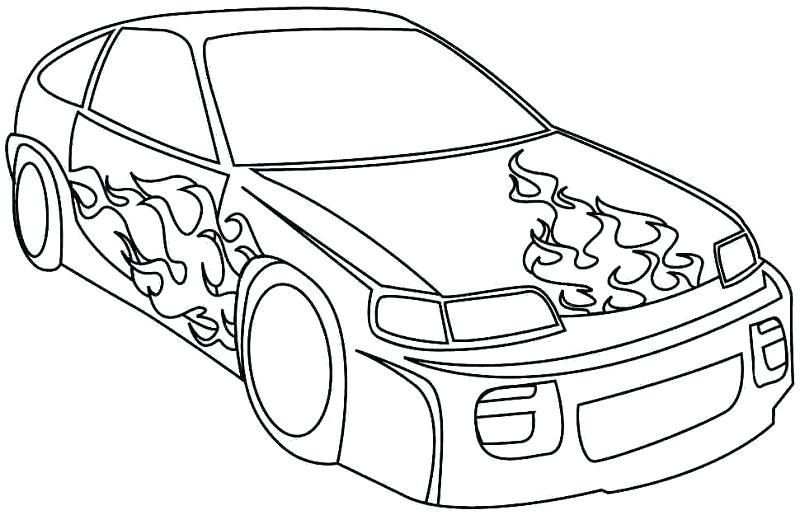 800x515 Race Car To Color Printable Coloring Car Driver In A Race Car
