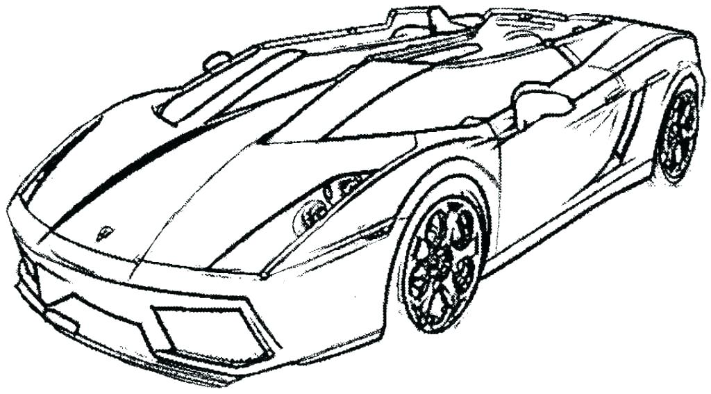 1024x567 Cars Coloring Pages Printable For Good Page Preschool Cure Draw