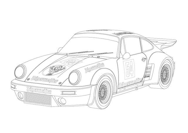640x453 Coloring Book Of Race Cars For The Little Motorist