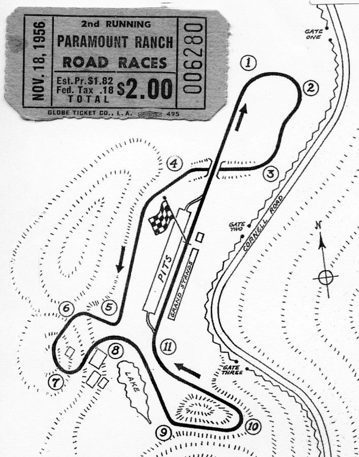 707x900 Paramount Ranch Race Track