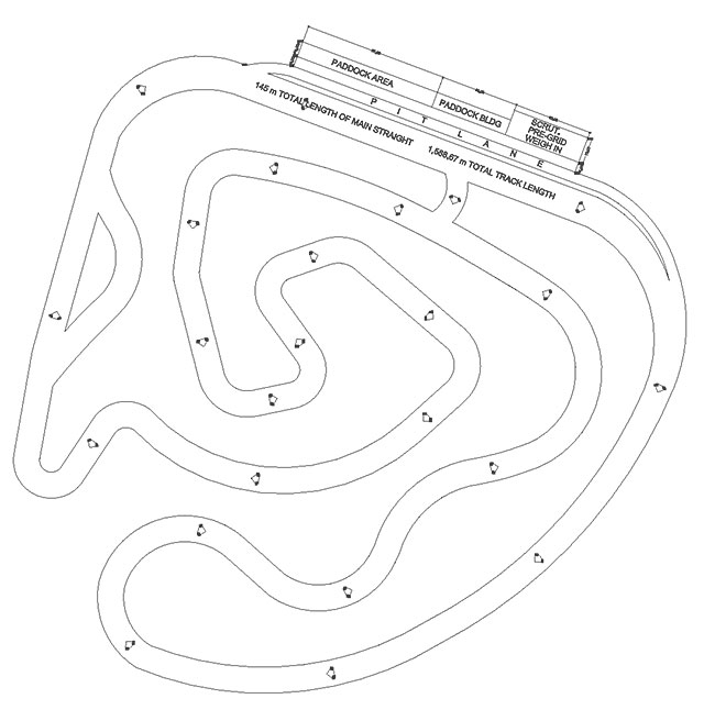 Race Track Drawing At Getdrawings Com