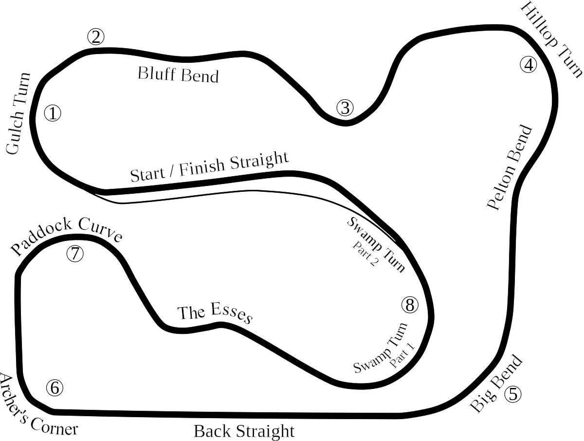 1200x906 Waterford Hills Road Racing Track