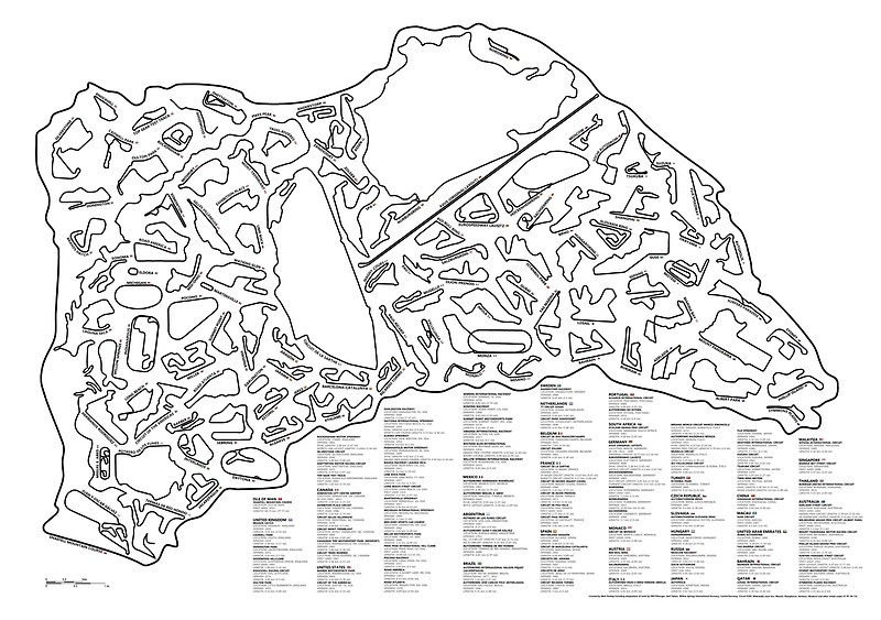 800x563 Race Tracks To Scale