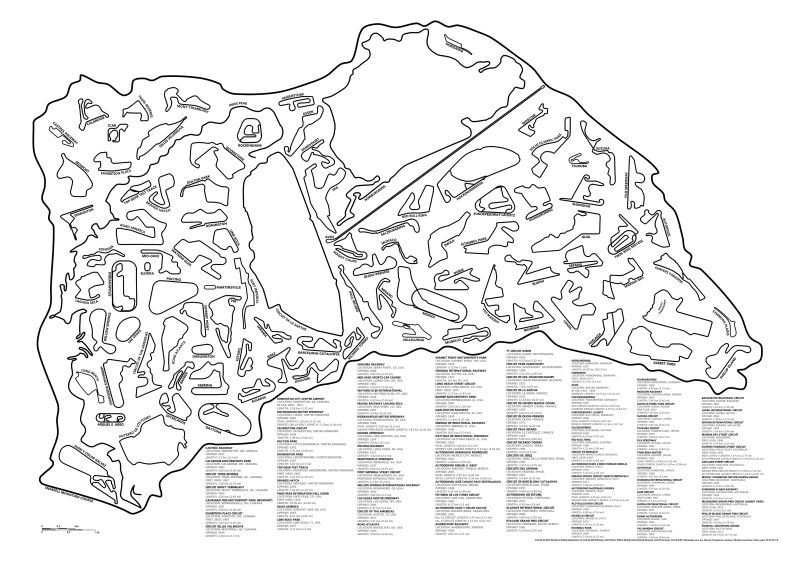 800x563 Amazing Graphic Shows How Every Great Race Track Fits Inside This One