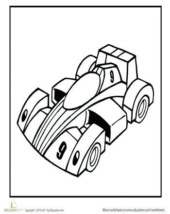350x440 Coloring Page Of A Car Racing Car Coloring Page Coloring Page