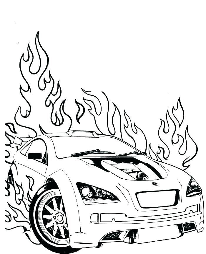 700x860 Car Coloring Pages To Print Coloring Pages For Kids Cars Also
